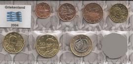 Griekenland UNC serie 2004 (7 munten)