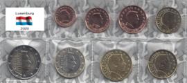 Luxemburg UNC serie 2020 (muntteken leeuw)