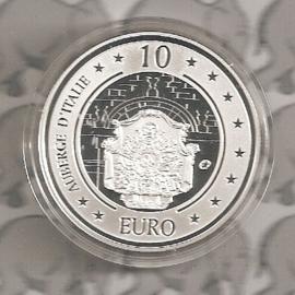 "Malta 10 euromunt 2010 ""Auberge dÍtalië"""