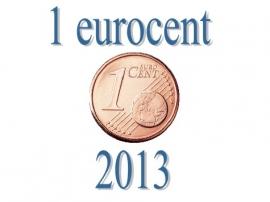 Finland 1 eurocent 2013