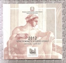 Italië BU set 2012 (9 munten)