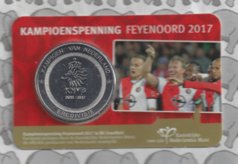 "Nederland coincard 2017 ""Kampioenspenning Feijenoord"" (penning)"