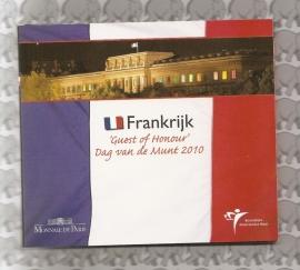 """Frankrijk BU set 2010 """"Dag van de Munt"""""""