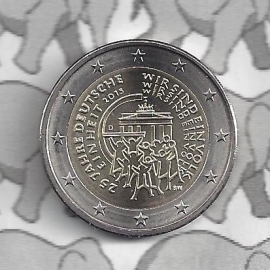 """Duitsland 2 euromunt CC 2015 """"25 jaar Duitse Eenheid"""""""