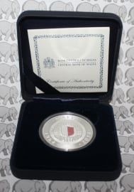 """Malta 10 euromunt 2014 """"40 jarig jubileum van de onafhankelijkheid"""""""