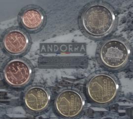 Andorra UNC serie 2020
