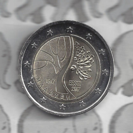 "Estland 2 euromunt CC 2017 (4e)""de weg van Estland naar onafhankelijkheid"""