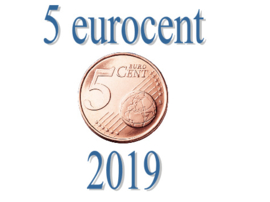 Portugal 5 eurocent 2019