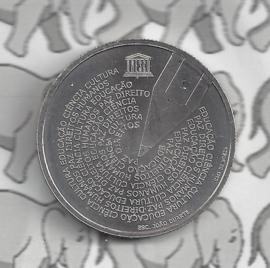 "Portugal 5 euromunt 2020 (32e) ""Portugese taaldag (UNESCO)"""