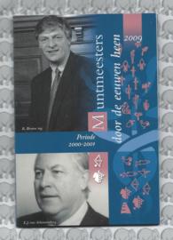 """Nederland BU set 2009 """"Muntmeesters door de eeuwen"""" (Coinfair)"""