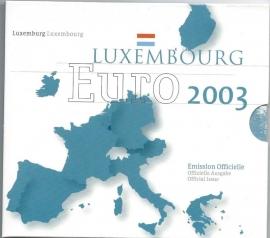 "Luxemburg BU set 2003 ""Monarchie"""