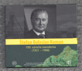 "Slowakije BU set 2021 ""Stefan Boleslav Roman"""