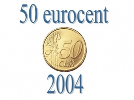 Luxemburg 50 eurocent 2004
