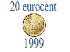 Spanje 20 eurocent 1999