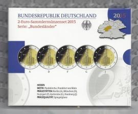 "Duitsland 2 euromunt CC 2015 ""Paulskirche in Frankfurt"" (5 letters) proof"