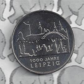"""Duitsland 10 euromunt 2015 (4e) """"100 jaar Leipzig"""" (nikkel)."""