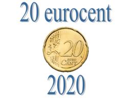 Slowakije 20 eurocent 2020