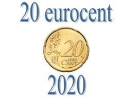 Spanje 20 eurocent 2020