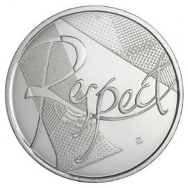 "Frankrijk 25 euromunt 2013 ""Le Respect"", zilver (3)"