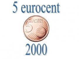 Frankrijk 5 eurocent 2000