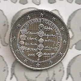 """Oostenrijk 2 euromunt CC 2005 """"50 jaar Staatsverdrag"""""""