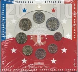 Frankrijk BU set 2010