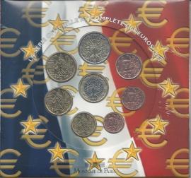 Frankrijk BU set 2004