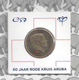 "Aruba munthouder  5 florin 2017 ""60 jaar rode kruis"""
