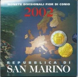 """San Marino BU set 2002 """""""""""