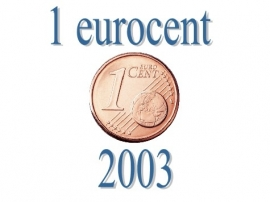 Luxemburg 1 eurocent 2003