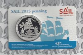 "Nederland coincard 2015 ""Sail Amsterdam 2015"" (penning)"