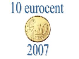 Duitsland 10 eurocent 2007 A