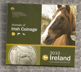"Ierland BU set 2010 ""Anim. of Irish Coinage"""