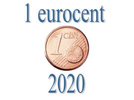 Oostenrijk 1 eurocent 2020