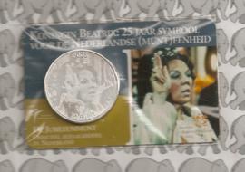 "Nederland 10 euromunt CC 2005 (6e) ""25 jaar Beatrix"" (in Coincard)"