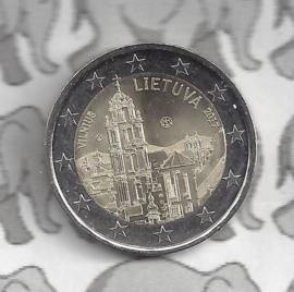 """Litouwen 2 euromunt CC 2017 """"Vilnius Cultuurstad"""""""