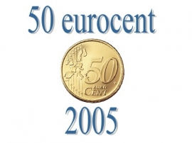 Luxemburg 50 eurocent 2005