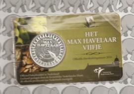 "Nederland 5 euromunt 2010 ""Max Havelaar"" (in coincard)"
