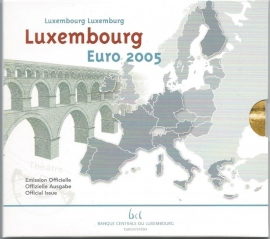 "Luxemburg BU set 2005 """""