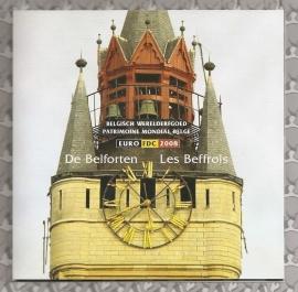 """België BU set 2008 """"De Belforten"""""""