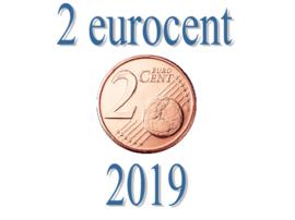 België 2 eurocent 2019