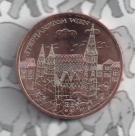 """Oostenrijk 10 euromunt 2015 (27e) """"Wenen"""" (Brons)"""