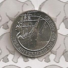 "Portugal 2,5 euromunt 2012 (19) ""Zeilopleidingsschip Sagres"""