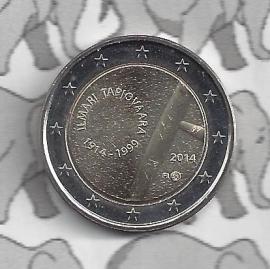 """Finland 2 euromunt CC 2014 """"100ste geboortedag van Ilmari Tapiovaara"""""""