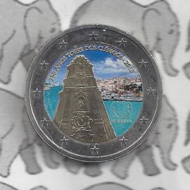 "Portugal 2 euromunt CC 2013 ""250ste verjaardag van de Clerigos Toren in Porto"" (kleur 2 x)"