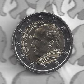 """Griekenland 2 euromunt CC 2017 """"60 jaar in memoriam Nikos Kazantzakis"""""""