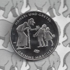"""Duitsland 10 euromunt 2014 (1e) """"Hans en Grietje"""" (nikkel)"""