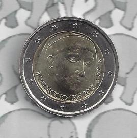 "Italië 2 euromunt CC 2013 (13e)""700ste geboortedag van Giovanni Boccacio"""