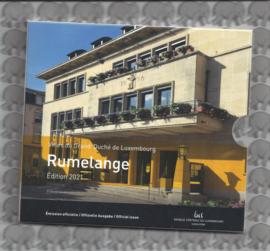 """Luxemburg 2x BU set 2021 """"Rumelange"""""""