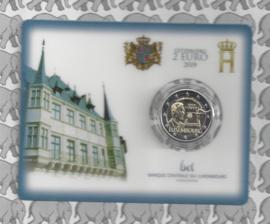 """Luxemburg 2 euromunt CC 2019 """"100 jaar na de invoering van het universieel kiesrecht"""" (in coincard)"""